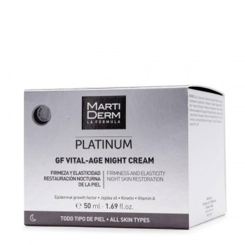 martiderm platinum gf vital age night cream 50 ml